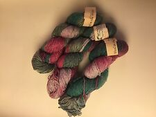 """3 Skeins Dunluce - Wool in the Woods Yarn """"Spanish Moss"""" 200 Yards 3 oz Each"""