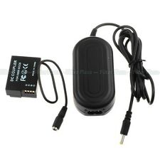 AC Power Adapter DMW-AC8 + DC Coupler DMW-DCC8 for Panasonic Lumix DMC-GH2 GH2HK
