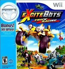 Excitebots Trick Racing Nintendo Wii GAME New Sealed