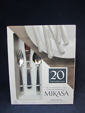 20pc SET - Mikasa 18/10 Stainless ITALIAN COUNTRYSIDE Service for Four NEW