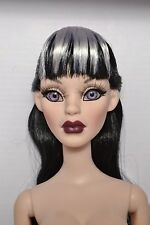"Wilde Imagination Parnilla Gothic Glam 16"" NUDE Doll NEW Evangeline Ghastly"