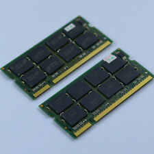 KIT 2GB 2X1GB PC3200 DDR400 400mhz 200PIN CL2.5 Laptop Speicher SO-DIMM RAM NEU