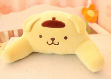 Q pom pom purin yellow pudding dog plush toy lumber pillow waist cushion gift 1p