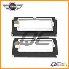 2 Genuine Mini Cooper R50 R52 R53 2002-2008 License Plate Light Lens 51247114535