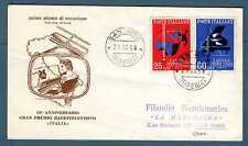 """ITALIA REP. - 1958 - 10° ANNIV. GRAN PREMIO RADIOTELEVISIVO """"ITALIA"""" .E4523"""