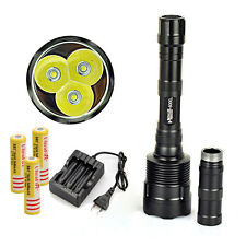 Rechargeable Trustfire 6000Lm 3x CREE XML T6 LED Tactical Flashlight Torch 18650