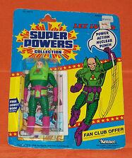 vintage Kenner Super Powers LEX LUTHOR MOC (torn card)