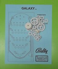 1978 Bally Galaxy pinball / bingo rubber ring kit