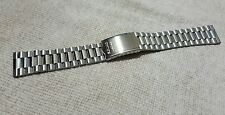 18mm seiko bell matic , speed timer  watch stainless steel  bracelet strap new