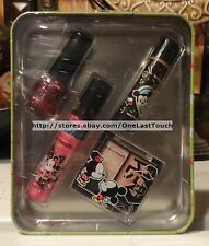 SMACKERS Tin Set TO-KI-O TREATS Lot NIGHT OUT Lip gloss/balm+Eye Shadow+ Polish