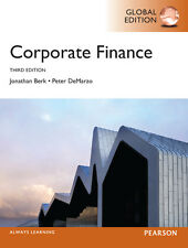 Corporate Finance: Global Edition (3rd Edition) by Berk and DeMarzo