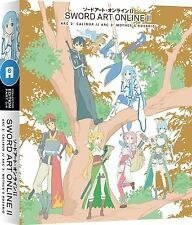 Sword Art Online II Series 2 Part 3 Collectors Blu ray & DVD New & Sealed ANIME