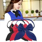 New Women Girl Fashion Party Banquet Solid Color Adjustable Bow Tie Cute OE