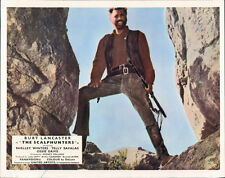 The Scalphunters original Lobby Card Burt Lancaster holding rifle