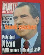 BUNTE 1969 Nr.10: Präsident Nixon - Willkommen in Deutschland! / Apollo 9