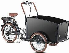 Neu 13AH Elektro Kinder-Transportrad Lastenfahrrad 3-Rad Bakfiets 7 Gang Shimano