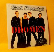 Cardsleeve Single CD Get Ready Dromen 2TR 1997 Vlaamse Pop