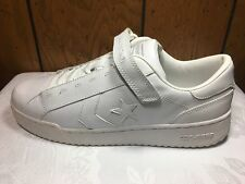 OLD SCHOOL CONVERSE PRO CLASSIC OX MEN'S OX LO TOP LEATHER WHITE  2001 SIZE14
