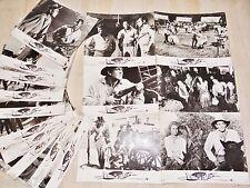 LES REVOLTES DU CAP !  jeu 14 photos cinema lobby cards 1961 zoulou afrique