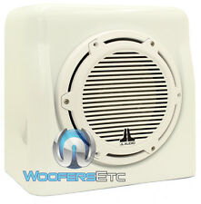 "JL AUDIO FS110-W5-CG-WH 10"" M10W5-4 LOADED MARINE BOAT ENCLOSED SUBWOOFER WHITE"