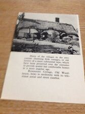 Ephemera 1964 Picture Rosemount Cottage Old Woodhouse Leicester M46101