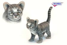 Gatto grigio 30 cm Pupazzo Animale Peluche Hansa Toy 6574