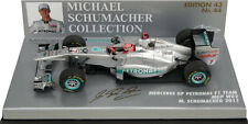 Minichamps Mercedes Gp F1 Team 2011 carrera la versión-Michael Schumacher 1/43 Escala