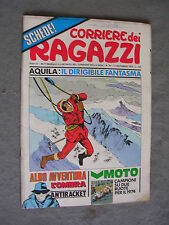 CORRIERE DEI RAGAZZI n. 46 - 17/11/1974 - ANNO III - OTTIMO - CON INSERTO