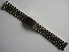 19MM STAINLESS STEEL JUBILEE BAND BRACELET FOR ROLEX OLD DATEJUST WATCH