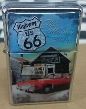 ROUTE 66 GAS LIGHTER, HIGHWAY US 66,  REPLICA ARMY LIGHTERS, NOSTALGIC ART