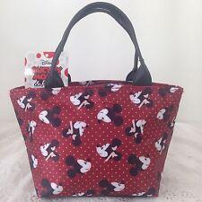 DISNEY MICKEY MOUSE Handbag Clutch Purse Tote Shopper Bag W 27 x H 14 cm (XS).