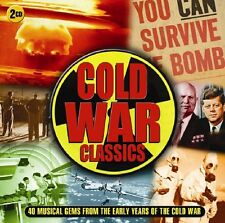 Various Artists - Cold War Classics (2017)  2CD  NEW/SEALED  SPEEDYPOST