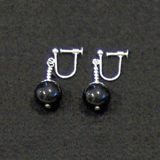 Clip On - Black Onyx Potara Fusion Earrings Dragon Ball Z DragonballZ Earings