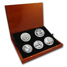 2015 5 Coin Silver ATB Set (Elegant Display Box) - SKU #94359