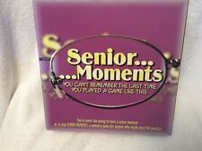 NEW! SENIOR MOMENTS  2-8 Players Memory Card/Board Game all Ages FREE SHIPING!