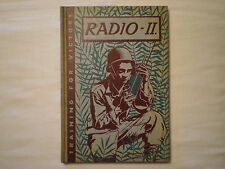 VINTAGE 1943 TRAINING FOR VICTORY RADIO II WORLD WAR 2 ILLUSTRATED BOOK