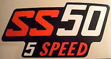 HONDA SS50 SS50ZB2 SIDE PANEL DECALS X 2