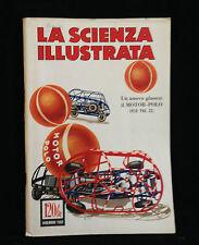 R9  LA SCIENZA ILLUSTRATA DICEMBRE 1952 - UN NUOVO - GIUCO : IL MOTOR- POLO -