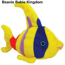 TY BEANIE BABIE * ORIEL * THE BRIGHT COLOURED ANGEL FISH
