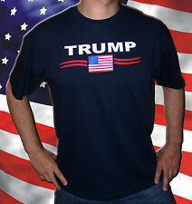 U.S.A.: T-Shirt Donald TRUMP USA PRESIDENT AMERICA Taille L