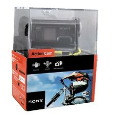 New Sony HDR-AS20 Full HD POV Action Cam Waterproof 1080p Camcorder - Black