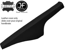 BLACK REAL LEATHER FITS VW GOLF 4 Mk4 & BORA JETTA 1998-2003 HANDBRAKE COVER