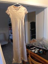 The White House Champagne Colored Gown Medium