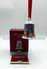 Hutschenreuther Porzellan Weihnachts Glocke 2016 - Höhe: 7cm - Motiv: Waldmusik