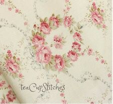 Vintage American Folk & Fabric~ROSE LANE BOUQUET~Antique Collection~Pink Roses