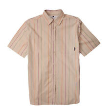Fourstar Boys Short Sleeve Matsui Shirt Striped Cream Age 8-9 years