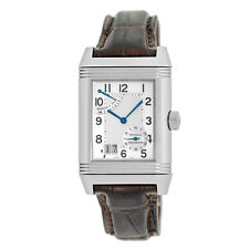 JAEGER Le COULTRE Stainless Grande Reverso Big Date Power Reserve Q3008420 BOX