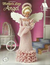 Mother's Love Angel Gown & Baby Crochet Pattern for Barbie Fashion Doll NEW