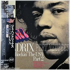 Jimi HENDRIX Rockin' The USA Part 2, 2 CD Gtfd Mini LP CD JAPAN OBI MSIG-0574/5