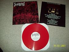 INCANTATION Live 1993 New Jersey LP sarcofago beherit unleashed morbid angel von